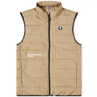 Aape Logo Light Down Vest