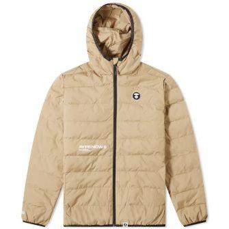 Aape Logo Lightweight Down Jacket