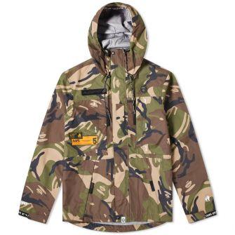 Aape Mountain Shell Camo Jacket