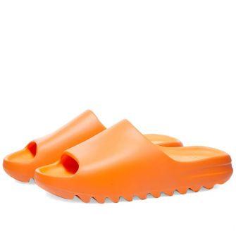 "Adidas Yeezy Slides ""Enflame Orange"""