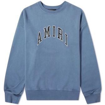 Amiri College Amiri Crew Sweat