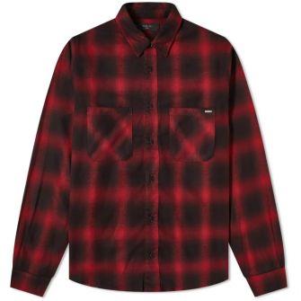 Amiri Core Shadow Plaid Shirt
