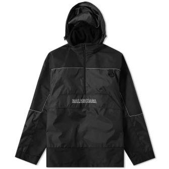 Balenciaga Quarter Zip Logo Windbreaker Jacket