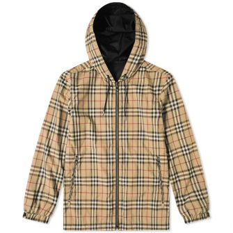 Burberry Streton Check Reversible Jacket