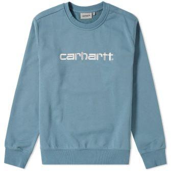 Carhartt Wip Embroidered Logo Crew Sweat