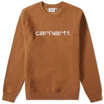 Carhartt Wip Embroidered Logo Sweat