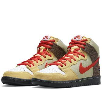 Color Skates X Nike Sb Dunk High 'Kebab And Destroy'