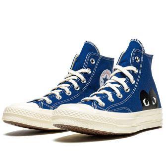 Comme Des GarÇons Play X Converse Chuck 70 High 'Blue Quartz'