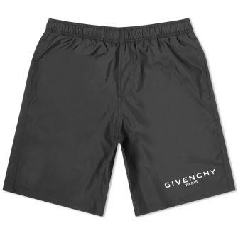 Givenchy Logo Long Swim Short