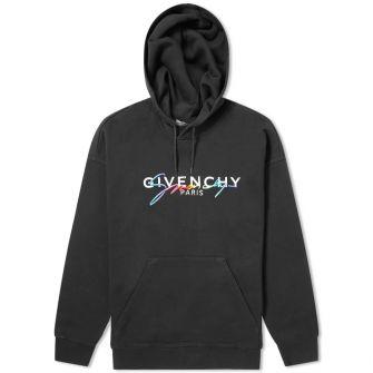 Givenchy Rainbow Logo Hoody