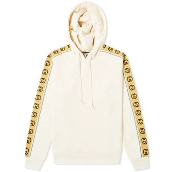 Gucci Tape Detail Popover Hoody