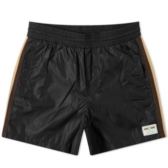 Gucci Taped Detail Swim Short