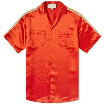 Gucci Taped Logo Vacation Shirt
