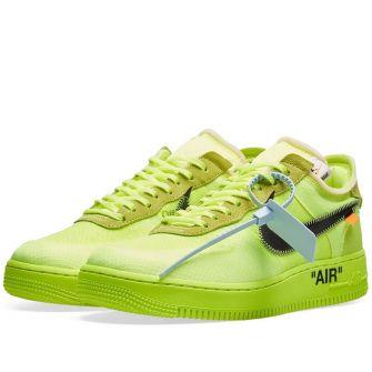 The Ten : Nike Air Force 1 Low X Virgil Abloh