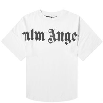 Palm Angels Front Logo Oversized Tee