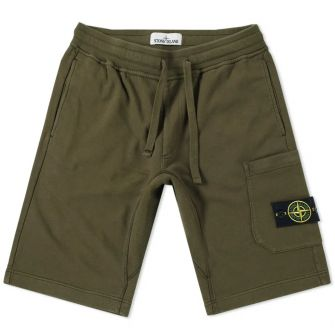 Stone Island Garment Dyed Cargo Sweat Short