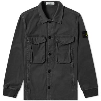 Stone Island Garment Dyed Stretch Overshirt