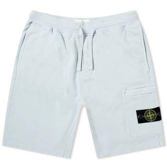 Stone Island Garment Dyed Sweat Short