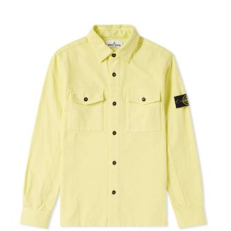 Stone Island Junior Old Effect Overshirt