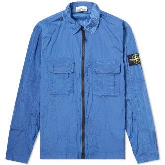 Stone Island Nylon Metal Zip Overshirt