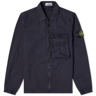 Stone Island Zip Pocket Overshirt