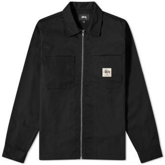 Stussy Zip Up Work Shirt