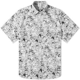 Vetements Cartoon Mania Flannel Shirt