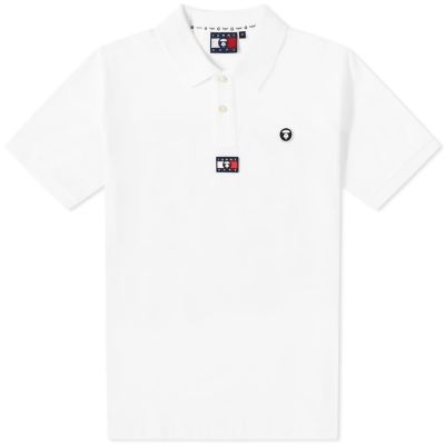 Aape X Tommy Jeans Flag Polo
