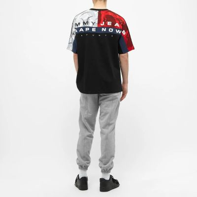 Aape X Tommy Jeans Flag Tee