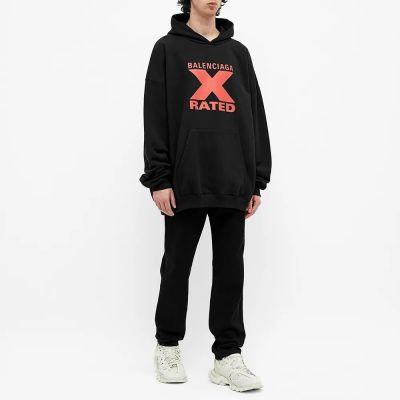 Balenciaga X Rated Logo Hoody
