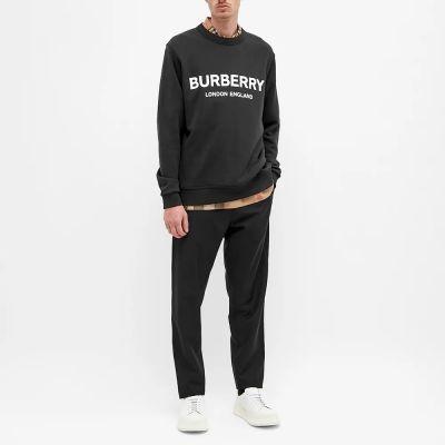 Burberry Lanslow Logo Crew Sweat