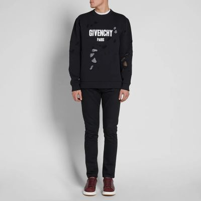 Givenchy Destroyed Crew Sweat