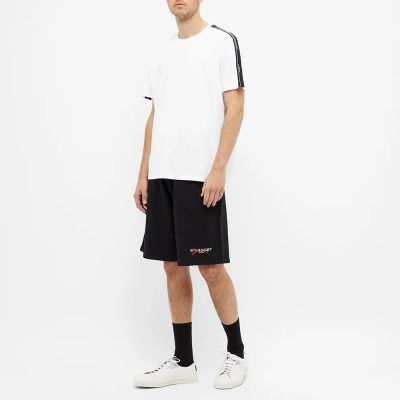 Givenchy Regular Fit Taped Sleeve Tee