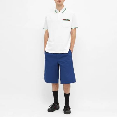 Gucci Stripe Jersey Polo