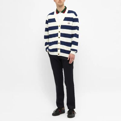 Gucci Striped Knitted Cardigan