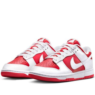 Nike Dunk Low 'White University Red'