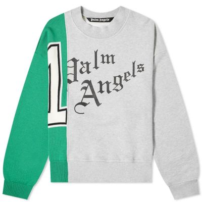 Palm Angels Butterfly Mix Crew Sweat