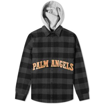 Palm Angels College Logo Overshirt