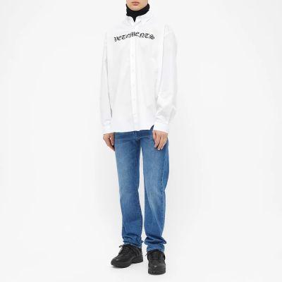 Vetements Gothic Vetements Shirt
