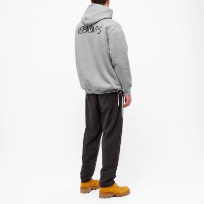 Vetements Jeans Logo Popover Hoody