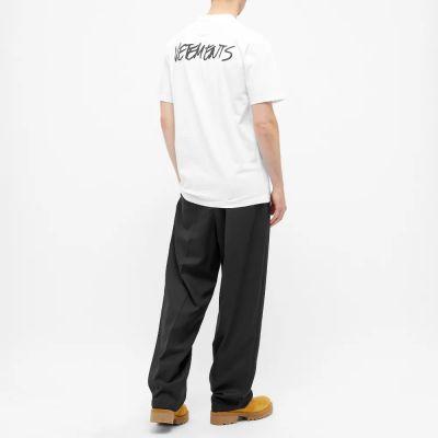 Vetements Jeans Logo Tee